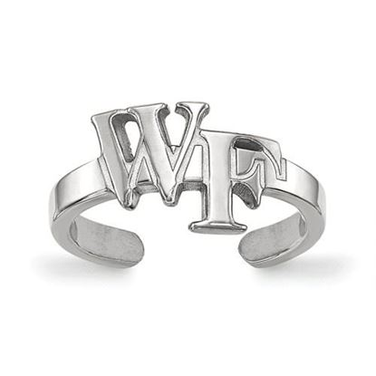 Picture of Wake Forest University Demon Deacons Sterling Silver Toe Ring