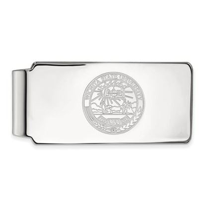 Picture of Wichita State University Shockers Sterling Silver Crest Money Clip