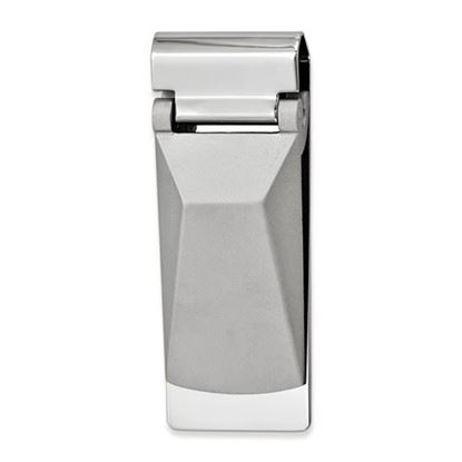 Picture of Silver-tone Angled Top Hinged Money Clip