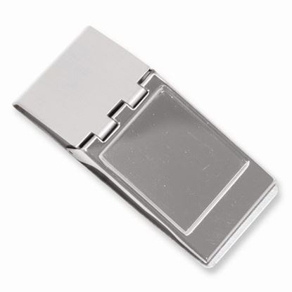 Picture of Silver-tone Hinged Money Clip