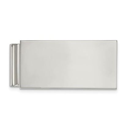 Picture of Stainless Steel Polished Money Clip
