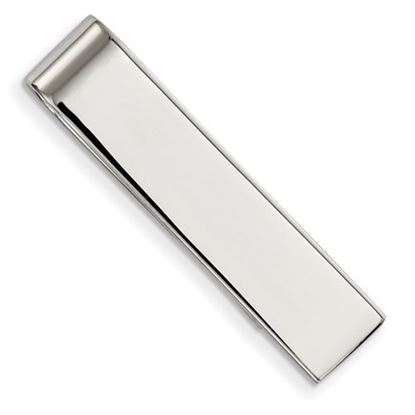 Picture of Stainless Steel Polished Classic Tie Bar