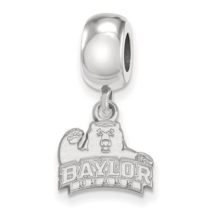 Picture of Baylor University Bears Sterling Silver Extra Small Dangle Charm Bead