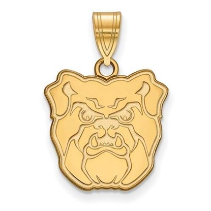 Picture of Butler University Bulldogs Sterling Silver Gold Plated Medium Pendant