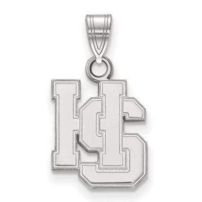 Picture of Hampden-Sydney College Tigers Sterling Silver Small Pendant