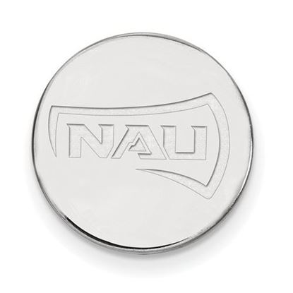 Picture of Northern Arizona University Lumberjacks Sterling Silver Leather Money Clip Wallet