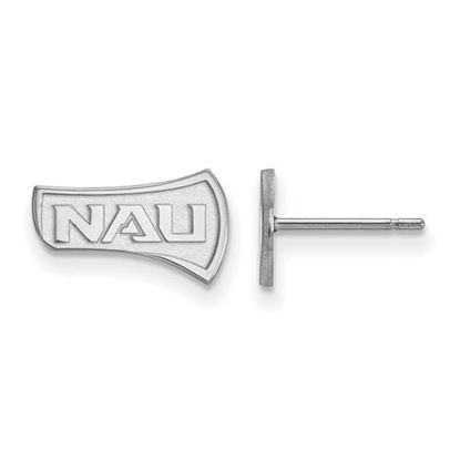 Picture of Northern Arizona University Lumberjacks Sterling Silver Extra Small Post Earrings