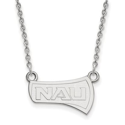 Picture of Northern Arizona University Lumberjacks Sterling Silver Small Necklace