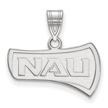 Picture of Northern Arizona University Lumberjacks Sterling Silver Medium Pendant