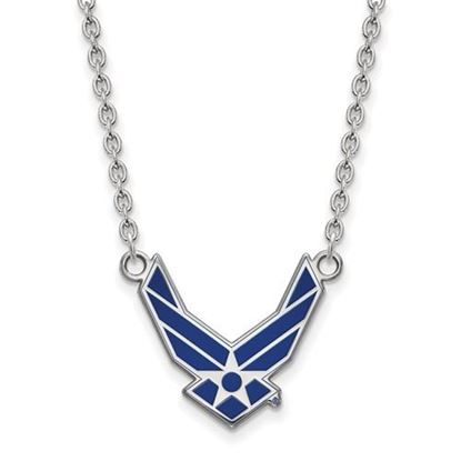 Picture of U.S. Air Force Academy Falcons Sterling Silver Large Necklace
