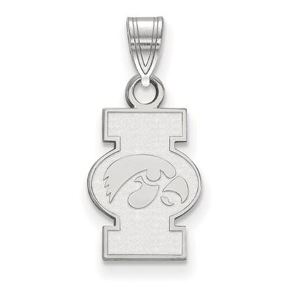 Picture of University of Iowa Hawkeyes Sterling Silver Small Pendant