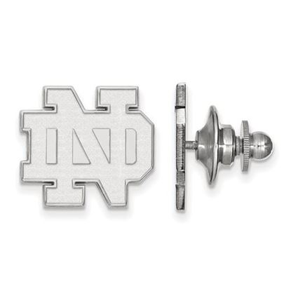 Picture of University of Notre Dame Fighting Irish Sterling Silver Tie Tac