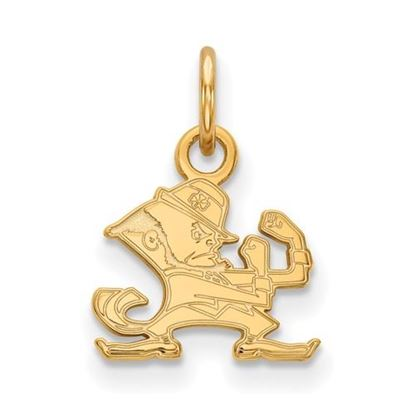 Picture of University of Notre Dame Fighting Irish Sterling Silver Gold Plated Extra Small Pendant