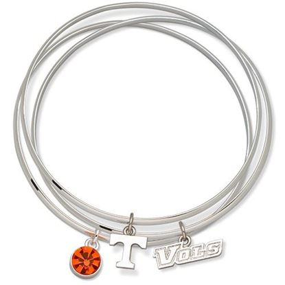 Picture of University of Tennessee Volunteers Triple Bracelet Set With Charms