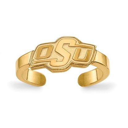 Oklahoma State Cowboys Gold Plated Toe Ring