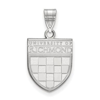 University of Richmond Sterling Silver Medium Pendant