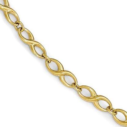 Picture of 7 inch Leslie's 10k Polished Bracelet