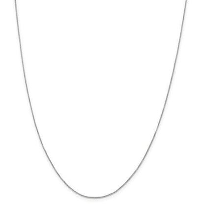Picture of Sterling Silver .6mm Box Chain Necklace