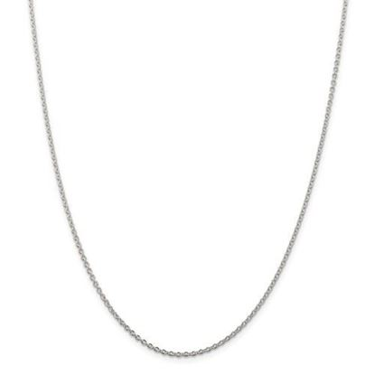 Picture of Sterling Silver 1.95mm Cable Chain Necklace