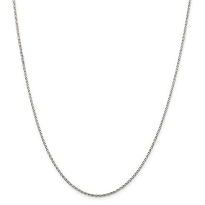 Picture of Sterling Silver 1.5mm Diamond Cut Spiga Chain Necklace