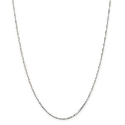 Picture of Sterling Silver 1.25mm Round Spiga Chain Necklace