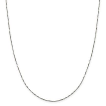 Picture of Sterling Silver 1.15mm 8 Side Diamond Cut Box Chain Necklace