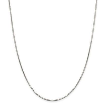 Picture of Sterling Silver 1.5mm Box Chain Necklace
