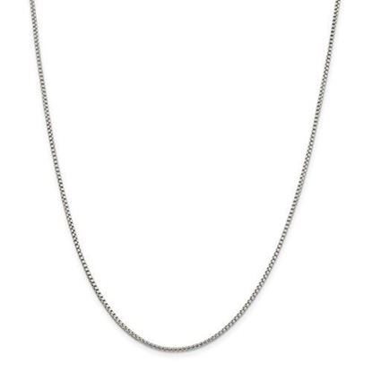 Picture of Sterling Silver 1.75mm Round Box Chain Necklace