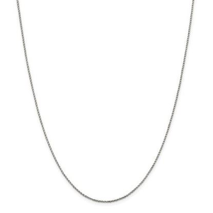 Picture of Sterling Silver 1.25mm Twisted Box Chain Necklace