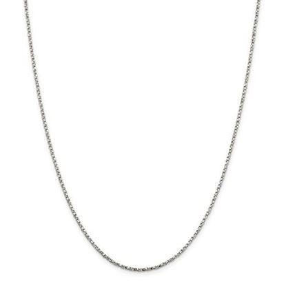 Picture of Sterling Silver 1.75mm Twisted Box Chain Necklace