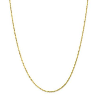 Picture of 10k Yellow Gold 1.75mm Parisian Wheat Chain Necklace