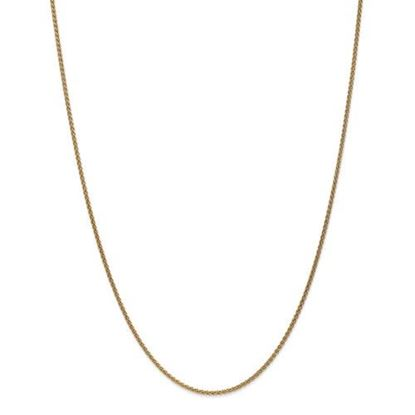 Picture of Leslie's 14k Yellow Gold 1.65mm Spiga Wheat Chain Necklace
