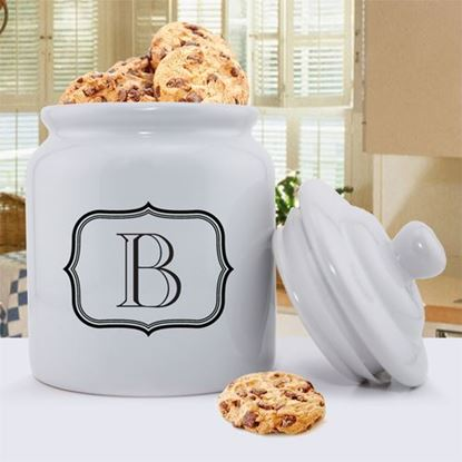 Personalized Single Initial Cookie Jar
