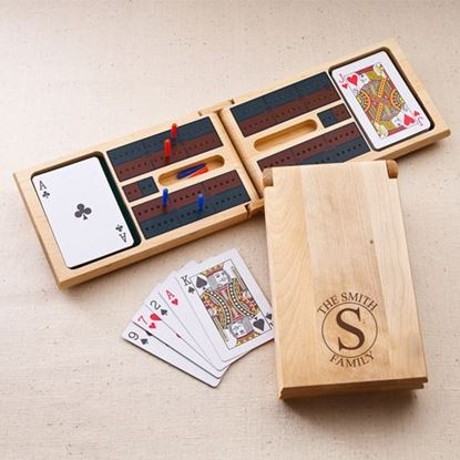 Personalized Circle Style Cribbage Game