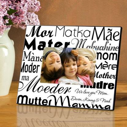 Personalized Mom in Translation Picture Frame
