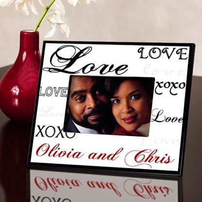 Personalized Simply Love Valentine's Day Picture Frame