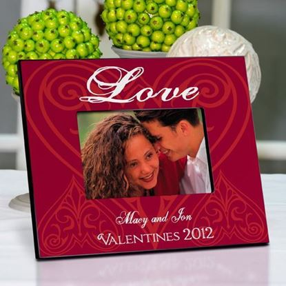 Personalized Roses are Red Valentine's Day Picture Frame