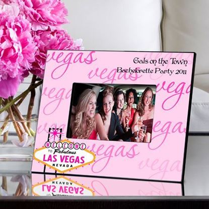 Personalized Bachelorette Party Las Vegas Picture Frame