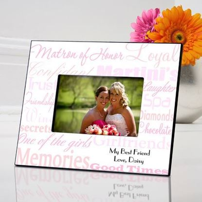 Personalized Matron of Honor Picture Frame