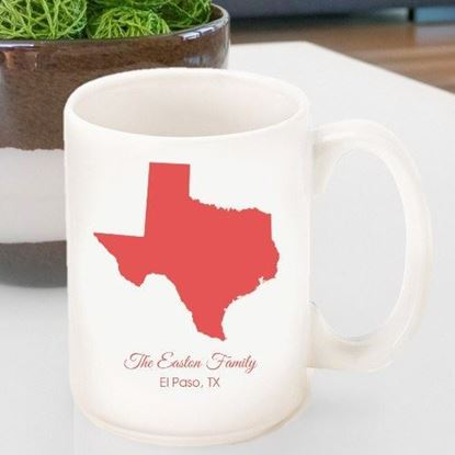 Personalized State and Family Coffee Mug