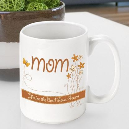 Personalized Mother's Day Breath of Spring Coffee Mug