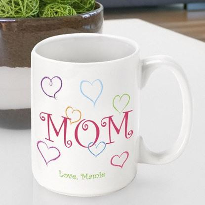 Personalized Mother's Day Mom's Love Coffee Mug