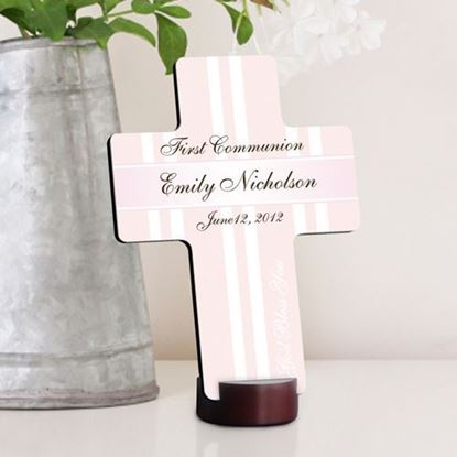 Personalized God Bless the Children First Communion Cross