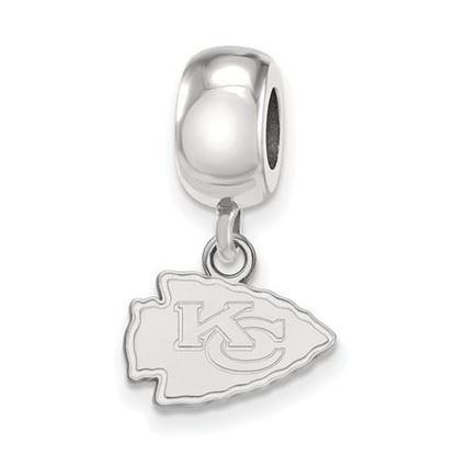 Picture of Kansas City Chiefs Sterling Silver Dangle Charm Bead