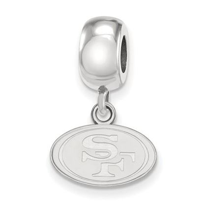 Picture of San Francisco 49ers Sterling Silver Dangle Charm Bead