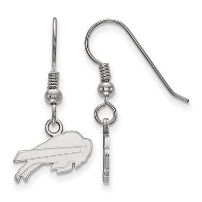 Picture of Buffalo Bills Sterling Silver Wire Dangle Earrings
