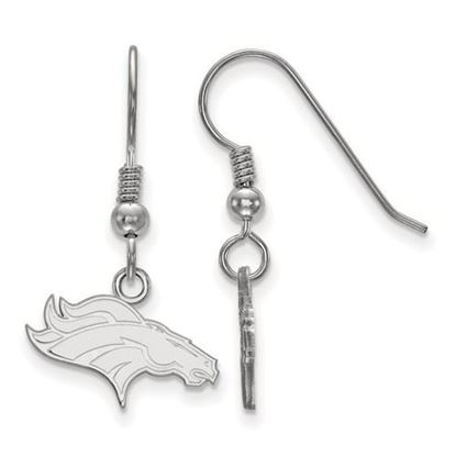 Picture of Denver Broncos Sterling Silver Wire Dangle Earrings