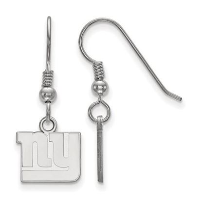 Picture of New York Giants Sterling Silver Wire Dangle Earrings
