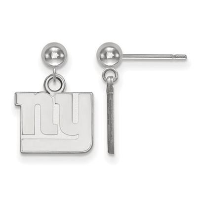 Picture of New York Giants Sterling Silver Dangle Earrings