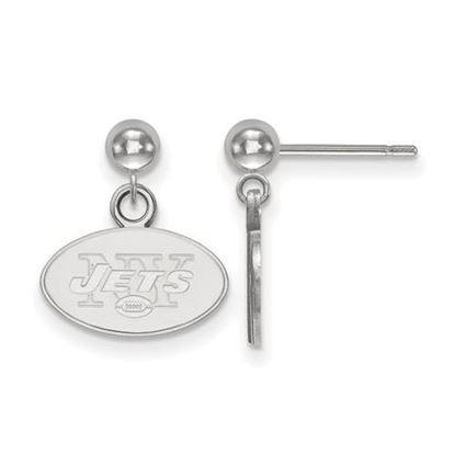 Picture of New York Jets Sterling Silver Dangle Earrings